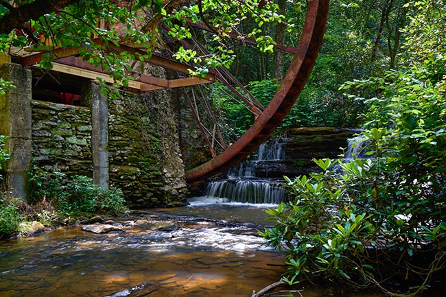 Long Creek Water Wheel