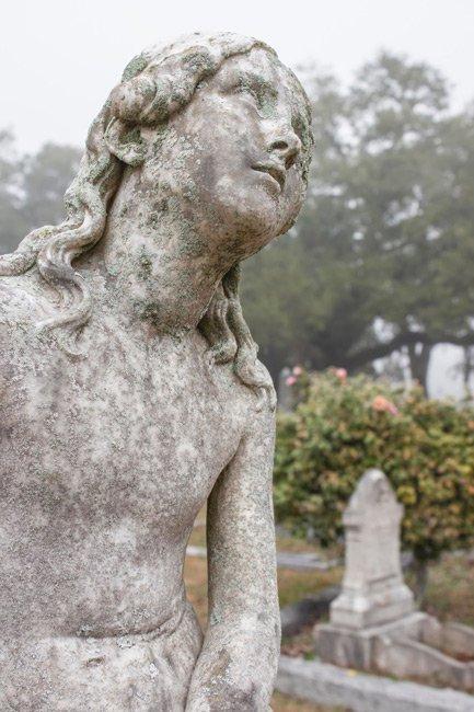Magnolia Cemetery Statue