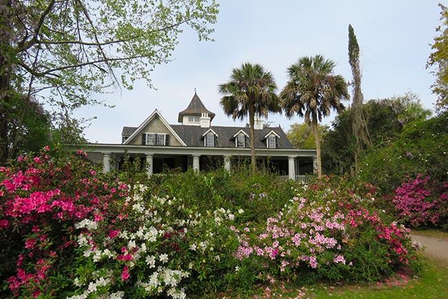 Magnolia Plantation House, Spring
