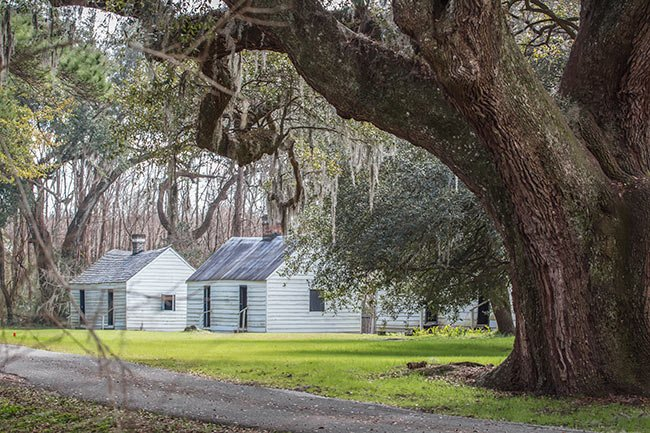 Magnolia Plantation Slave Street