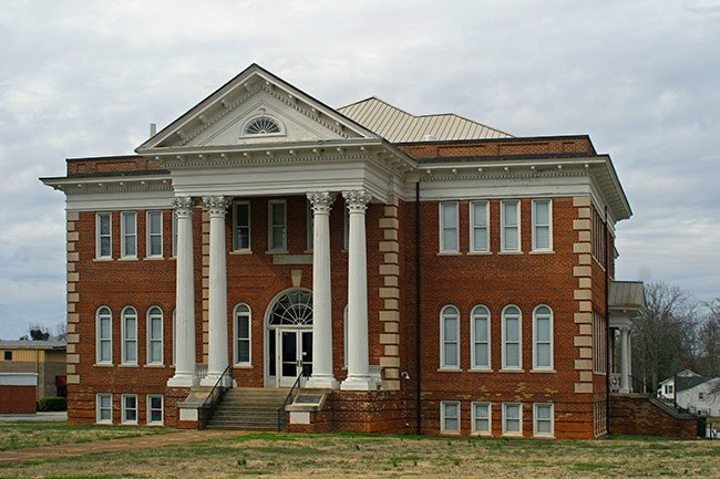 Main Street Grammar School in Union SC
