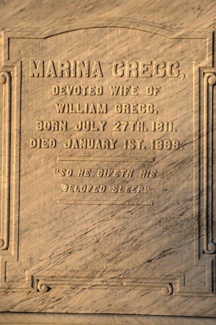 Marina Gregg Headstone