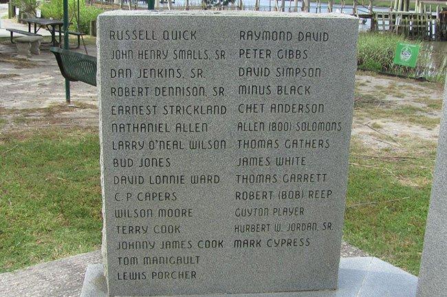 Seaman's Memorial McClellanville
