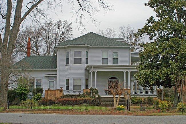 McWhirter House, Rear Elevation, Union, SC