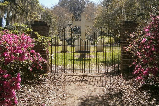 Luce Cemetery Entrance, Mepkin Abbey