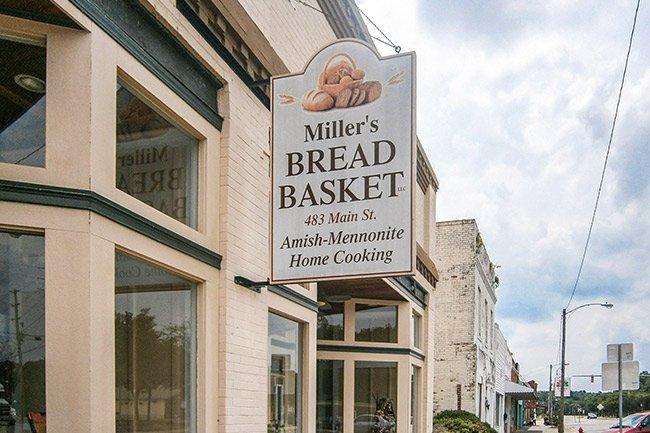 Miller's Bread Basket Sign