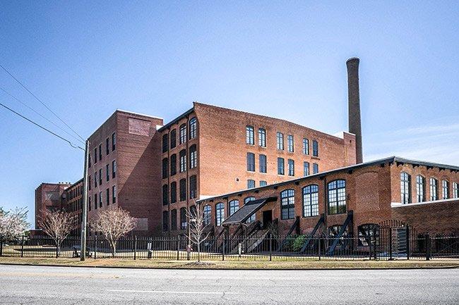 Moahagan Mill, Side View, Greenville