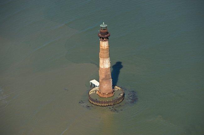 Morris Island Aerial