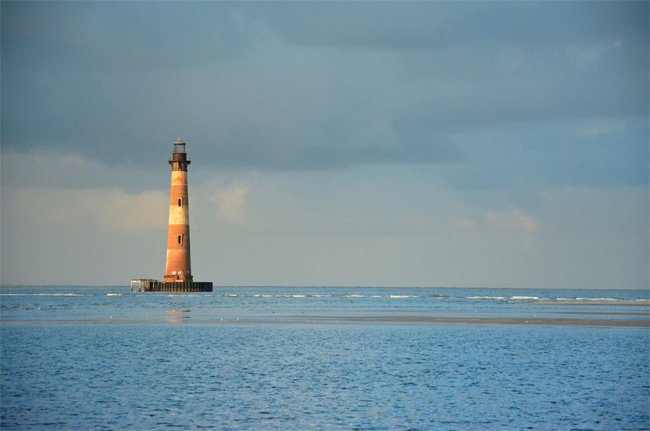 Morris Island Lighthouse Folly