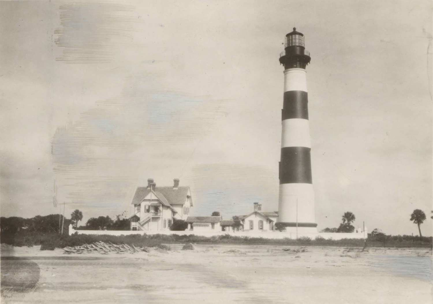 Morris Island Lighthouse Historical Photo