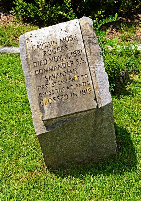 Moses Rogers Grave Marker