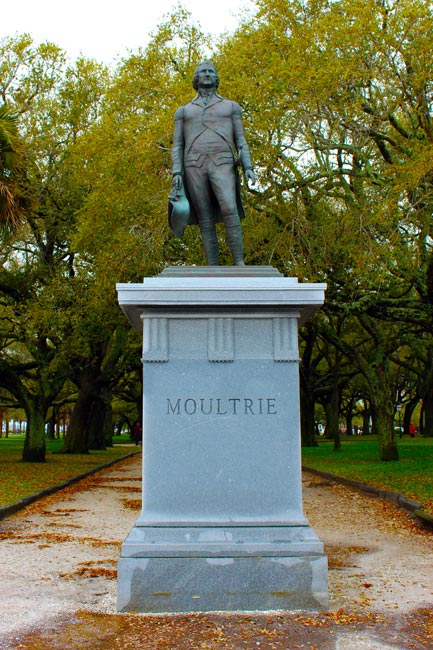Moultrie Statue