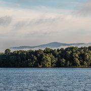 Mountains over Lake Robinson