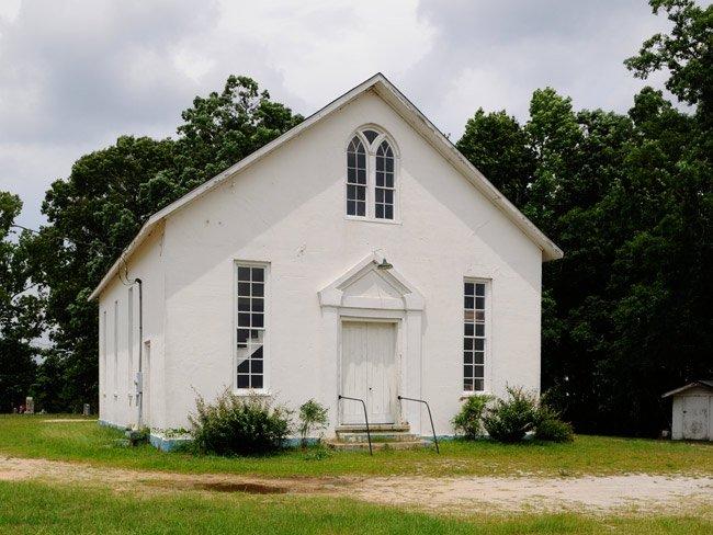 Mt Olivet Church in Winnsboro