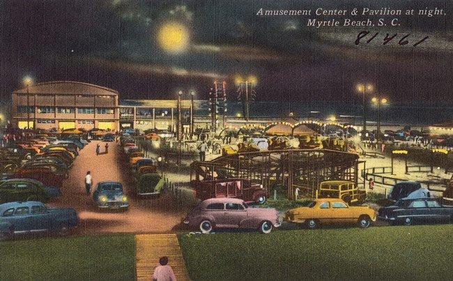 Myrtle Beach Pavilion Postcard