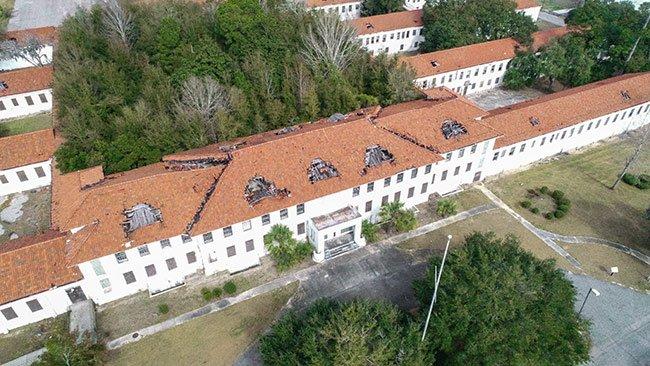 Naval Hospital Aerial