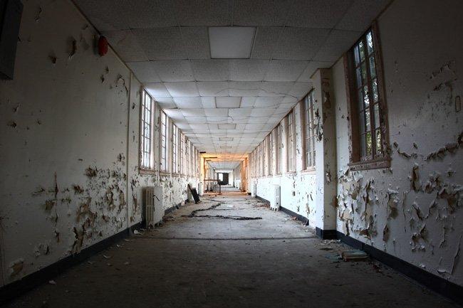 Naval Hospital Hallway