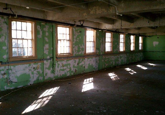 Naval Hospital Interior