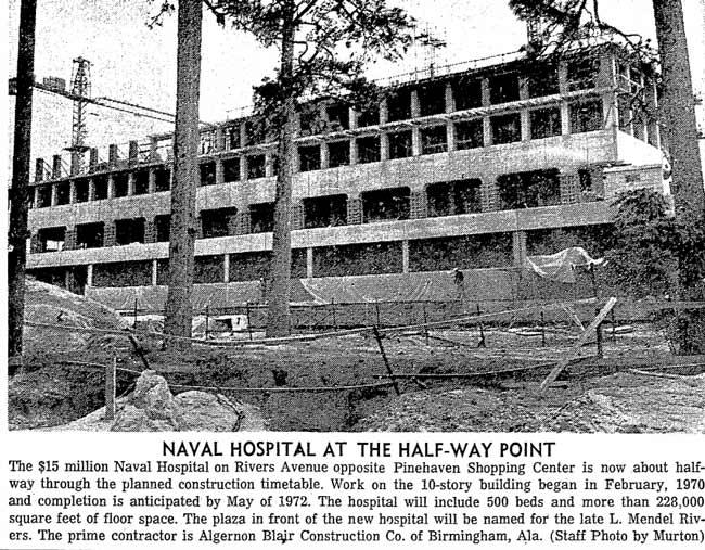 Naval Hospital Newspaper Article