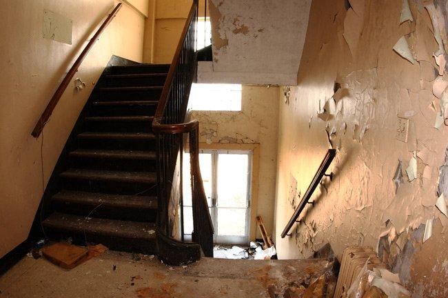 Naval Hospital Stairwell