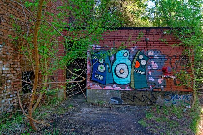 Newry Mill Graffiti