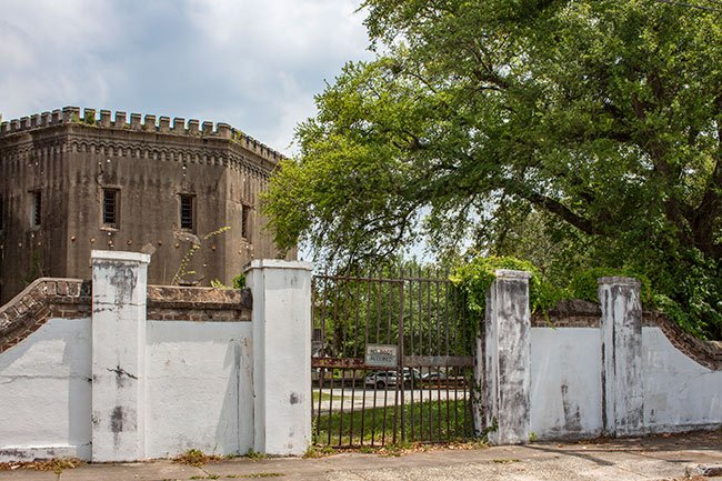 Old Charleston Jail Gate
