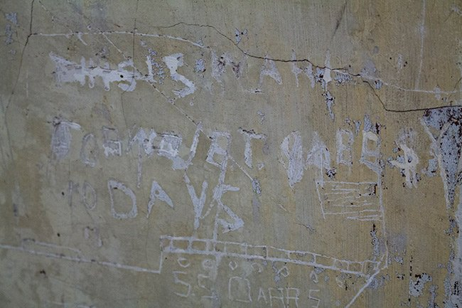 Old Charleston Jail Graffiti