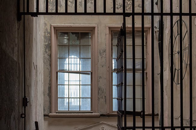 Old Charleston Jail, Interior Bars