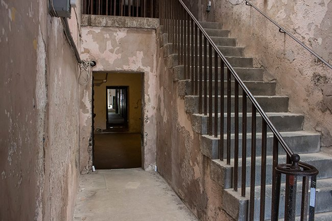 Old Charleston Jail Stairs