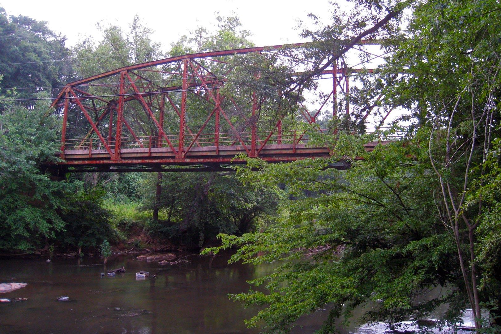 Old Dunham Truss Bridge