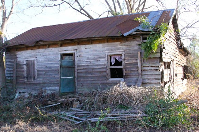 Old Jamestown Cabin