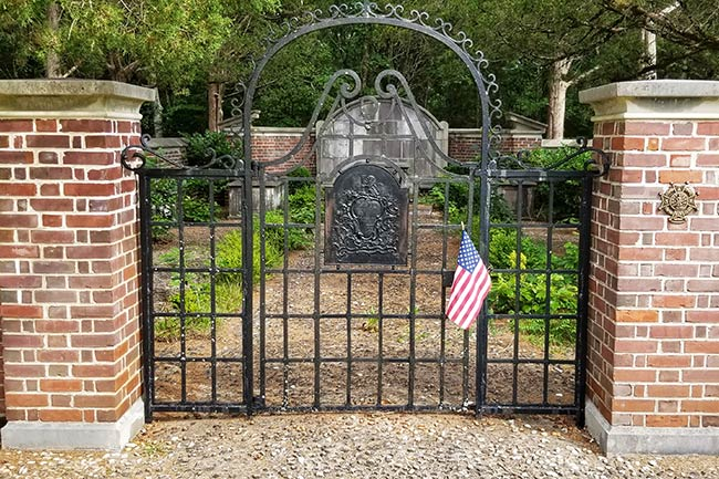 Old Waxhaw Church Cemetery Entrance
