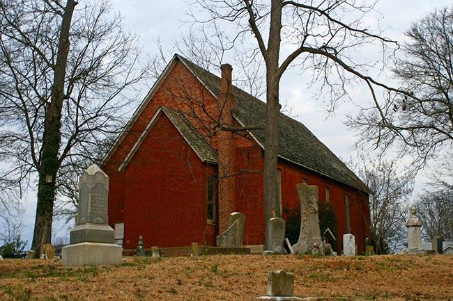Olde Presbyterian Church in Lancaster, SC