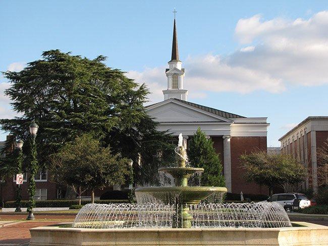 Orangeburg Town Square Fountain