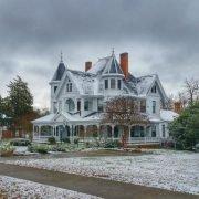 Owings Home Snow