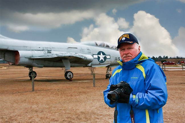 Pete Lawrence, Air Force