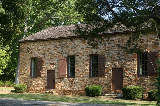 Old Stone Church in Clemson