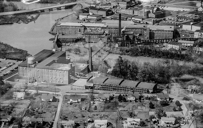 Piedmont Mill Aerial