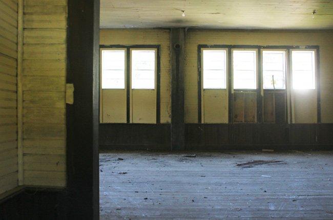 Pine Hill School Interior