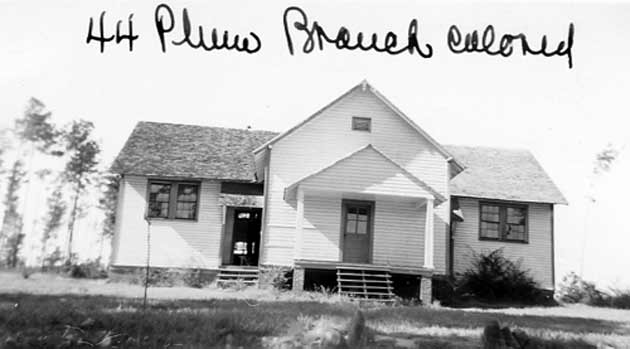 Plum Branch Rosenwald School