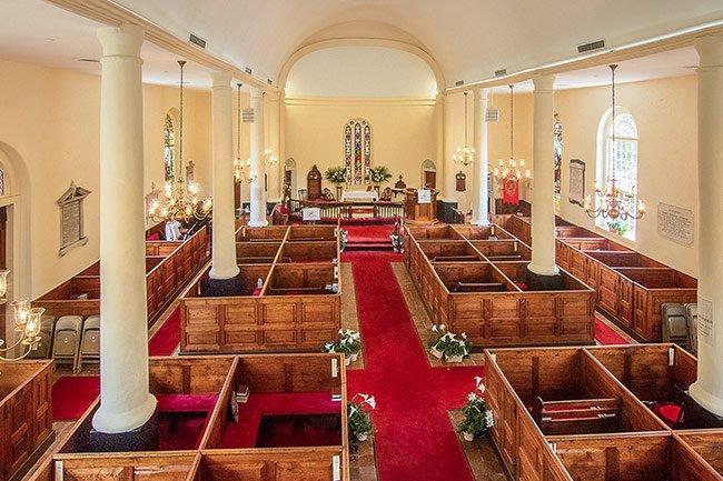 Prince George Winyah Church Sanctuary
