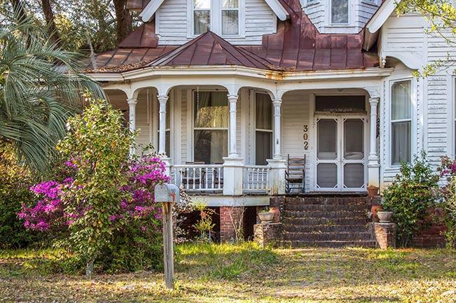 Prioleau House, Summerville Porch