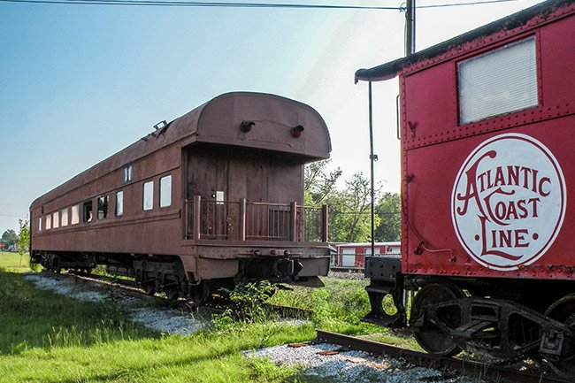 Rail Cars in Lake City