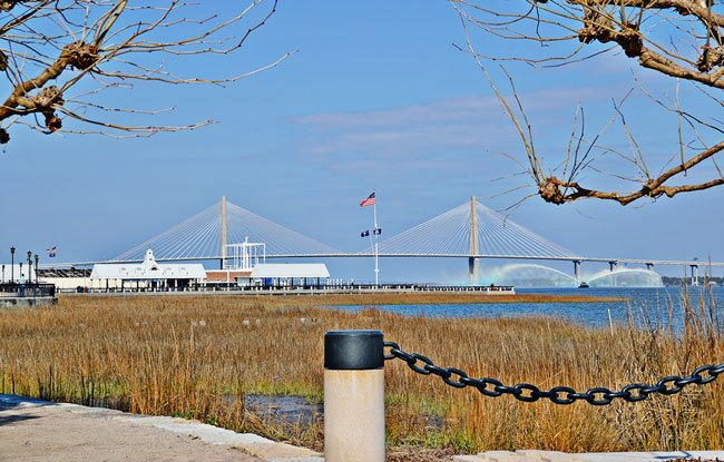 Ravenel Bridge Waterfront Park