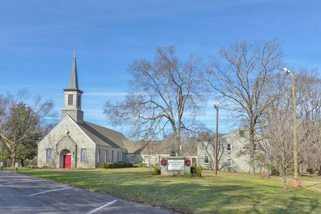 Rock Presbyterian Church in Greenwood
