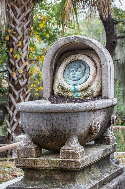 Rosalie Raymond White Grave