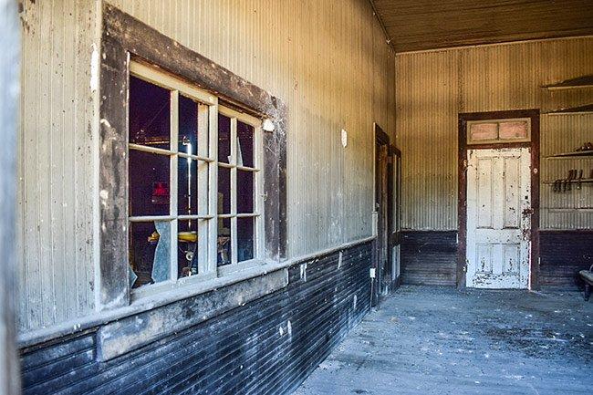 Salters Depot Interior