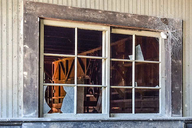 Salters Depot Window