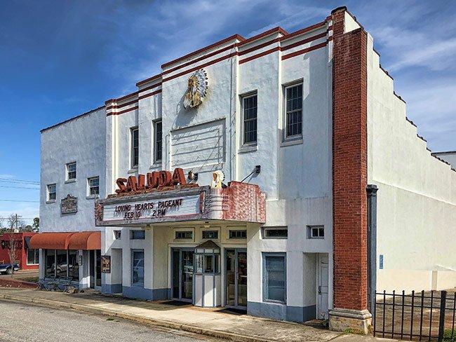 Saluda Theater Facade