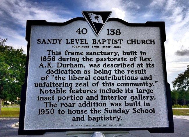 Sandy Level Marker Back